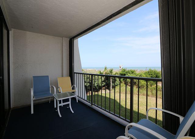 Station One - 1B Lee -  Oceanfront condo with community pool, tennis, beach - Image 1 - Wrightsville Beach - rentals