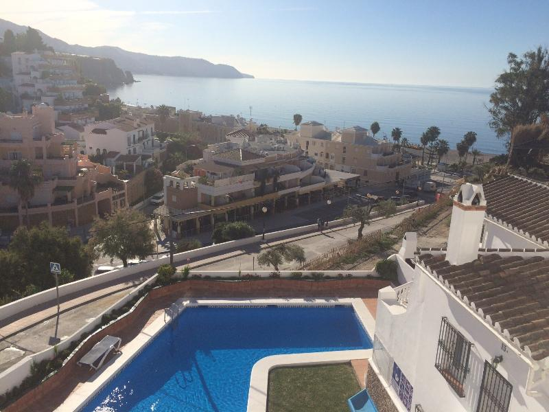 Sea view from the terrace - Holiday home in Nerja, Parador, Burriana, Alamar 1 - Nerja - rentals