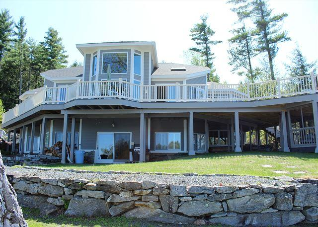 Lake Winnipesaukee Luxury Waterfront (THI132Wf) - Image 1 - Gilford - rentals