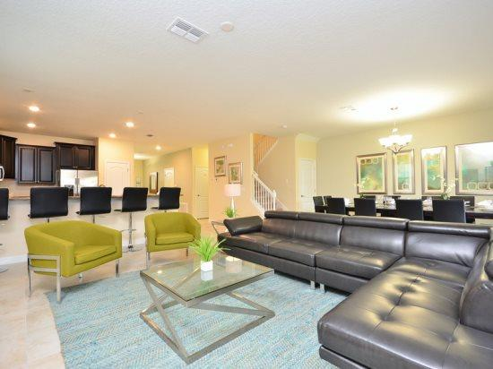 9 Bedroom ChampionsGate Home That Sleeps 19 Guests. 1455RFD - Image 1 - Orlando - rentals