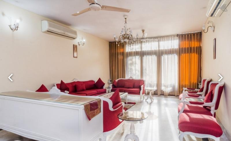 Drawing Room - 3 BHK with Cook @ GK 2  South Delhi Harmony Suites - New Delhi - rentals