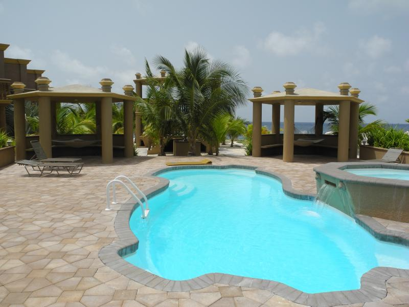 Swimming pool, jetted hot tub, hammocks, BBQs, lounge chairs ~ all just waiting for you to relax. - Book your luxury vacation by July 31 2015 and SAVE - Cayman Brac - rentals