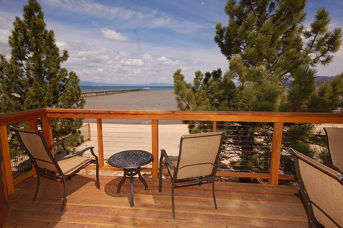 View from Upper Deck - 950 Bal Bijou Road - South Lake Tahoe - rentals