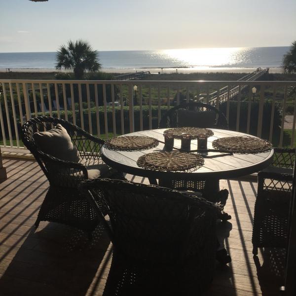 Porch- Sunrise-Oceanfront - OCEANFRONT Amelia Island FLORIDA Fernandina Beach - Fernandina Beach - rentals