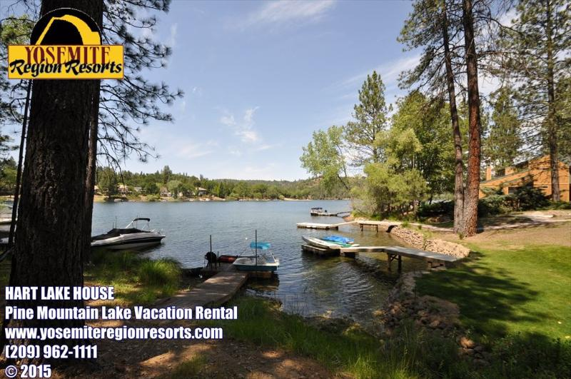 Unit 1 Lot 448 Pine Mountain Lake Lakefront Dog Friendly Vacation Rental Hart Lake House - Lakefront 500ft>MarinaBch WIFI DogOK 25m>Yosemite - Groveland - rentals