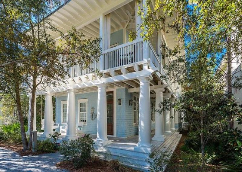 81 WaterColor Boulevard's Splendid Outdoor Porches; Main Floor Bedrooms and Second Floor Open-Concept Living Space - 81 WATERCOLOR BLVD W - Santa Rosa Beach - rentals