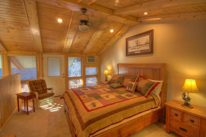 King Master Suite in Loft - Castletree - Beech Mountain - rentals