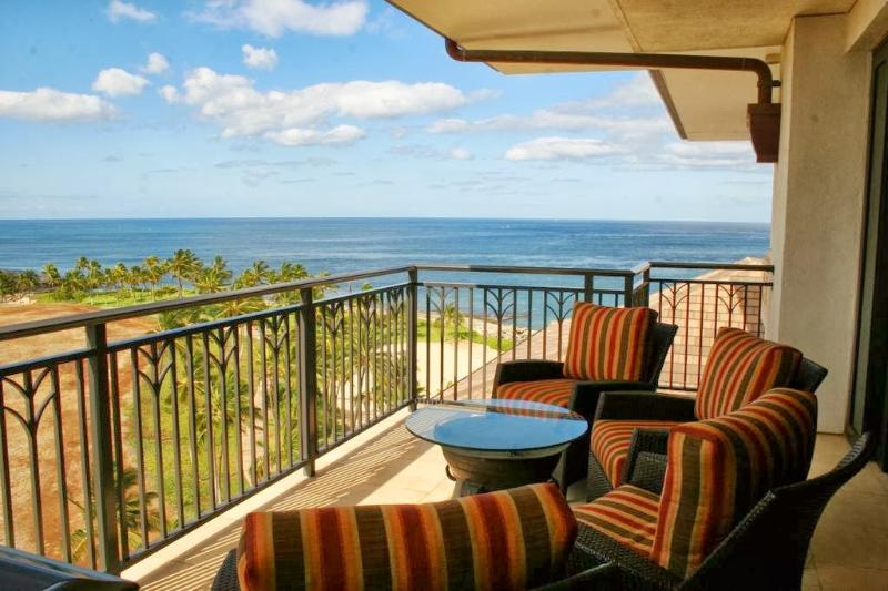 Beach Villas Ko Olina BT-907 - Ocean View from Lanai - Ko Olina Ocean View 9th Floor 3 Bedroom Penthouse - Kapolei - rentals
