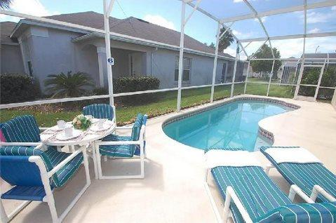 3 Bedroom 2 Bathroom Pool Home Near Golf And Disney. 238HL - Image 1 - Orlando - rentals