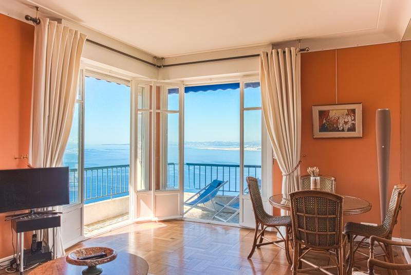 Nice French Riviera Most spectacular Sea views 2bd - Image 1 - Nice - rentals