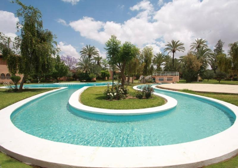 Beautiful Riad in the Marrakech Palm Grove - Image 1 - Marrakech - rentals