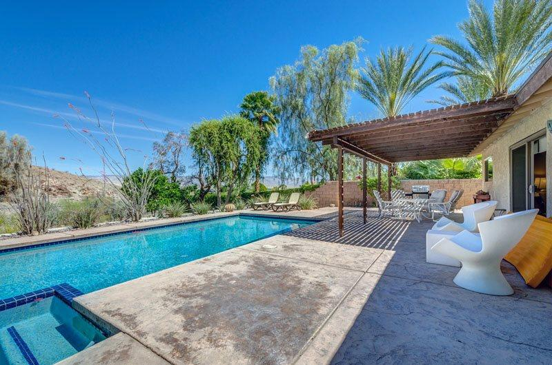 A Pool House for Nature Lovers - Image 1 - Cathedral City - rentals