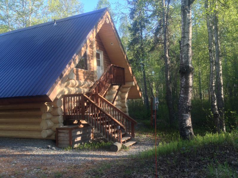 "The Loft Cabin - Downtown Area - ""The Loft"" Cabin w/  Tree-top View, Downtown Area - Talkeetna - rentals"