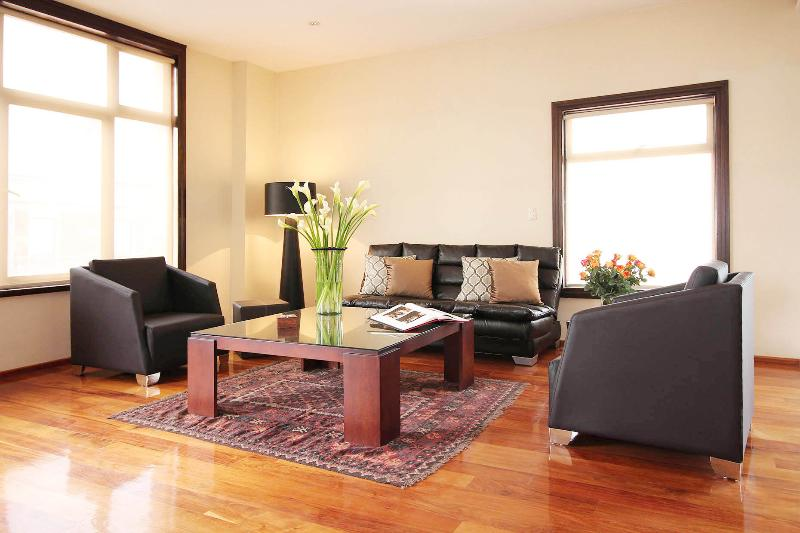 Living room - Gorgeous Apartment, views, in Historic Center - Mexico City - rentals