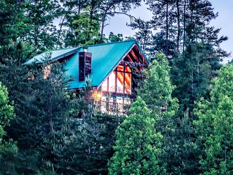 SUMMER VIEW SIDE - Crimson Clover - Gatlinburg - rentals