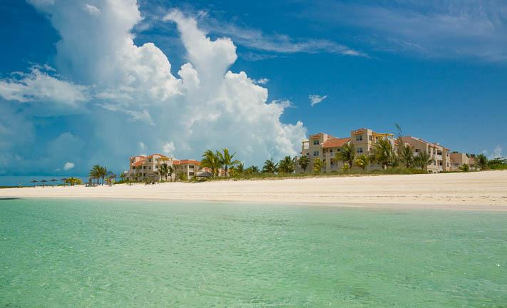 Ocean Front property with a private beach - 2 bdrm ocean  view pool, hot tub, beach, nice - Providenciales - rentals