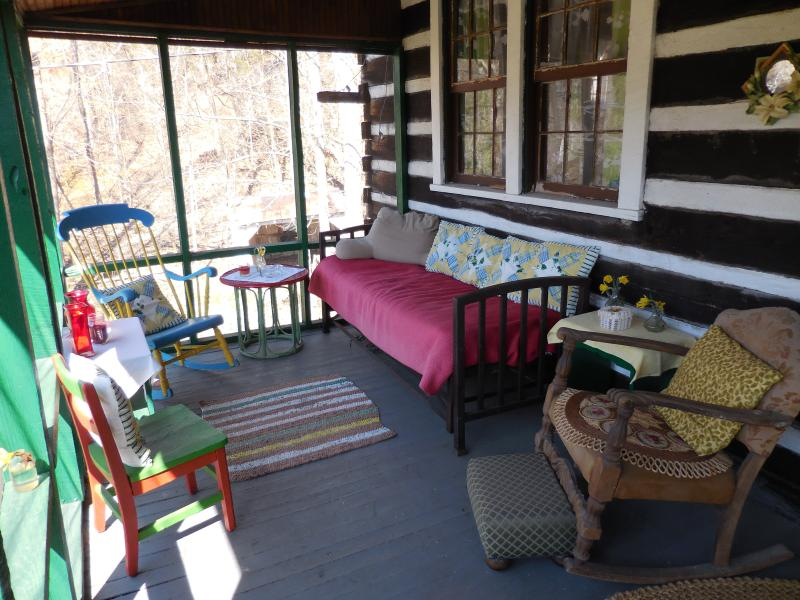 A rustic cabin you will love with a sweet screened in porch. - Hummingbird Haven ~ a  rustic cabin you will love. - Leipers Fork - rentals