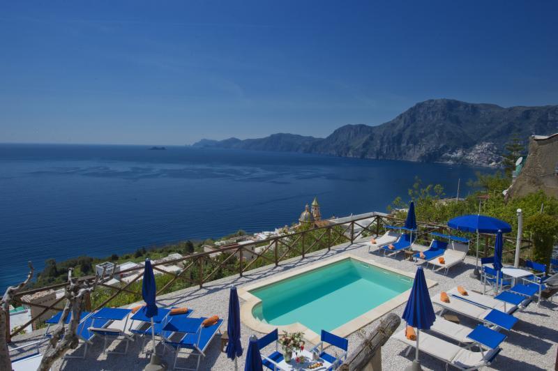 pool - Villa Il Frantoio Suites Praiano - Praiano - rentals