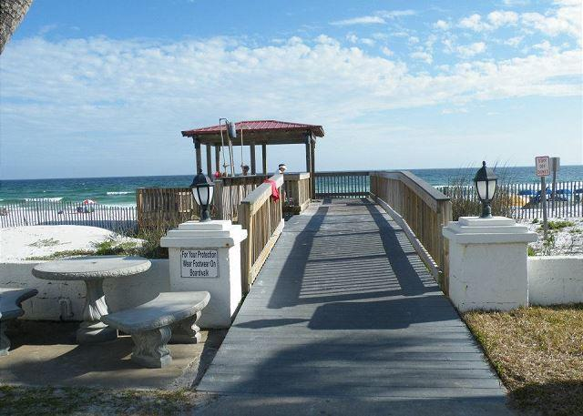 Boardwalk to the beach - One of El Matador's Finest - Free Beach Services!!! - Fort Walton Beach - rentals