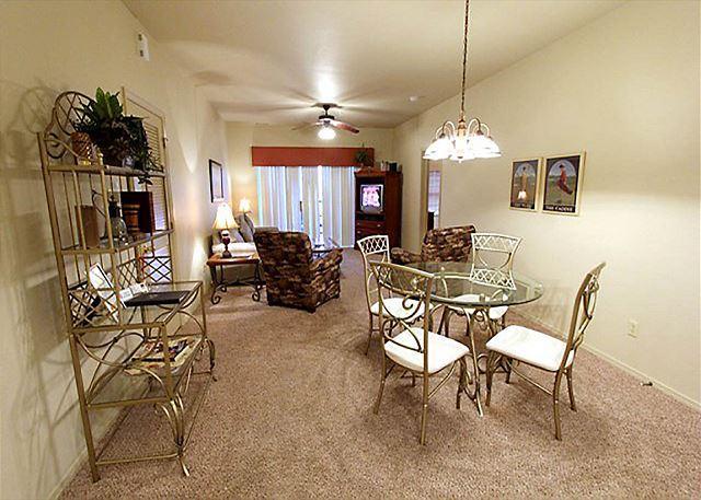 Living Room - Fairway to Heaven - Pet Friendly 3 Bedroom, 3 Bath Golf Condo at Stonebridge! - Branson West - rentals