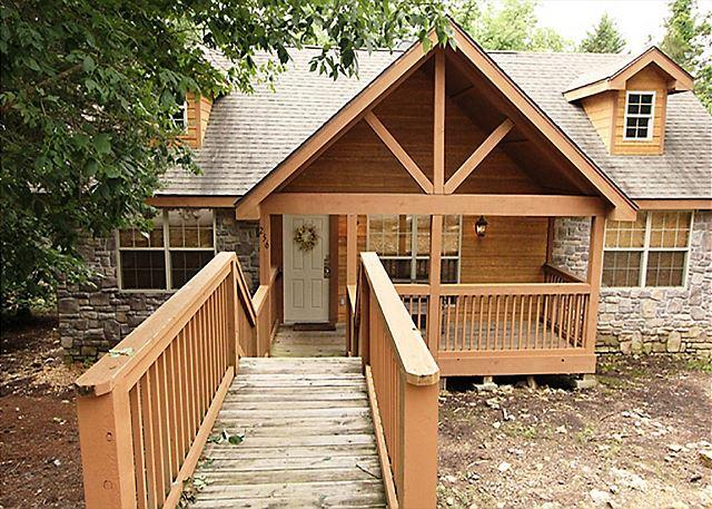 Deer Haven Lodge - DeerHaven Lodge : Enchanting 2 Bedroom, 2 Bath Cabin at Stonebridge Resort! - Branson West - rentals