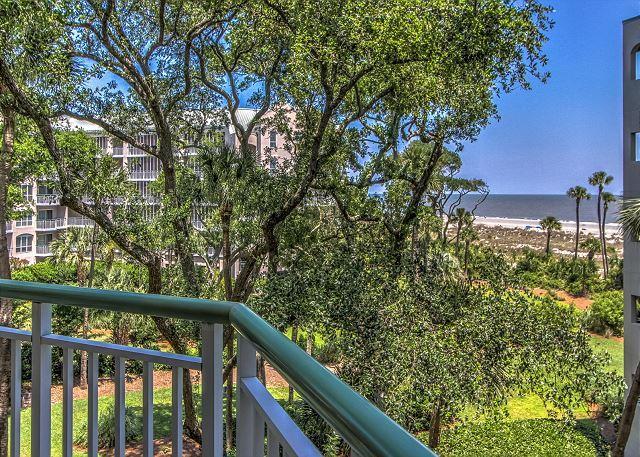 View - 2315 Windsor Place II -Beautiful Oceanfront 1 Bedroom Villa! - Hilton Head - rentals