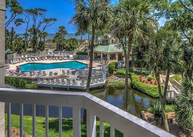 View - 206 Barrington Arms-OCEANFRONT - $100 OFF AVAILABLE WkS-  6/11, 6/18 & 6/24 - Hilton Head - rentals