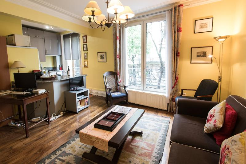 Living room - Caulaincourt Classique Vacation Rental in Montmartre - Paris - rentals