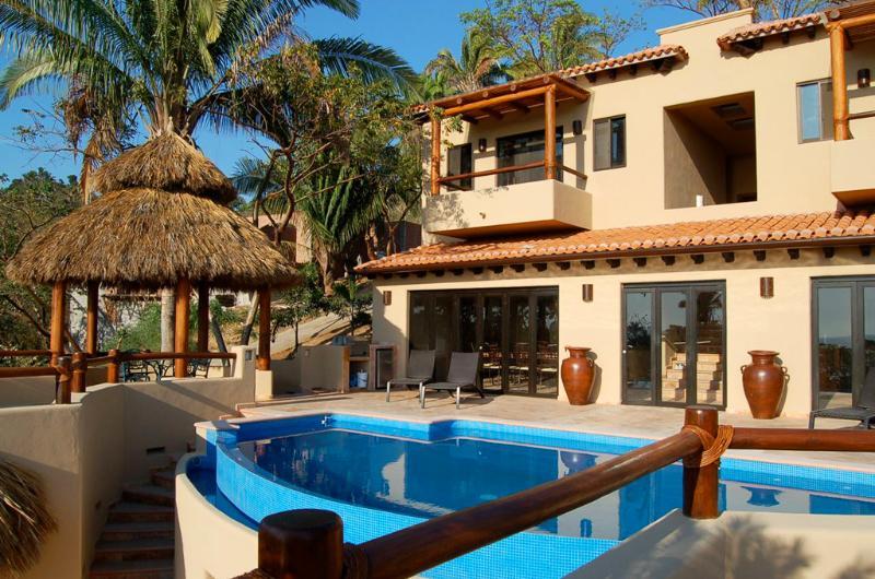 Pool terrace - Casa Sweetwater - Ocean View Villa! - San Pancho - San Pancho - rentals