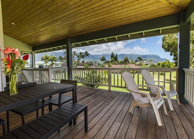 Walking distance to St. Regis Resort Beach and Happy Talk Bar and Lounge! - Image 1 - Princeville - rentals