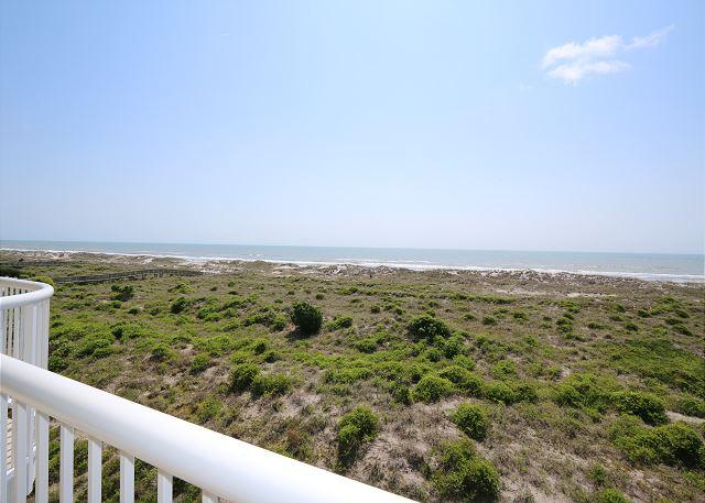 Wrightsville Dunes 3C-E - Oceanfront condo with community pool, tennis, beach - Image 1 - Wrightsville Beach - rentals