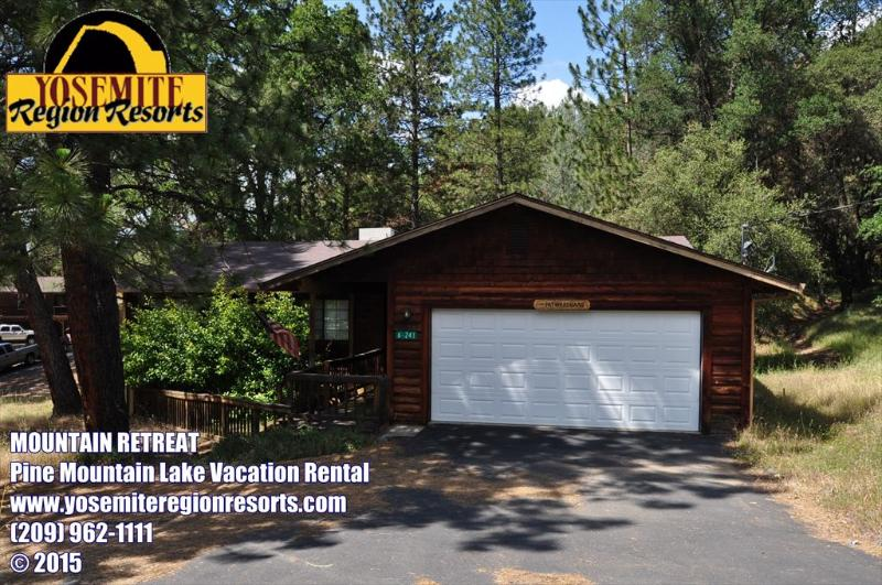 Unit 6 Lot 241 Pine Mountain Lake Vacation Rental - Sleeps8 DSL Roku CentralA/C 1.5m>Pool 25m>Yosemite - Groveland - rentals