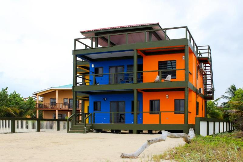 Gorgeous four-suite oceanfront villa with a private beach right in town! - Image 1 - Placencia - rentals