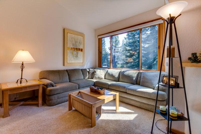 Dog-friendly condo with shared hot tub, pool, ski-in/ski-out! - Image 1 - Truckee - rentals