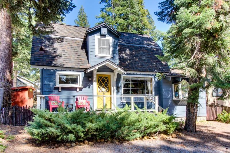 Dog-friendly; steps from golf, Kings Beach, & restaurants - Image 1 - Tahoe Vista - rentals