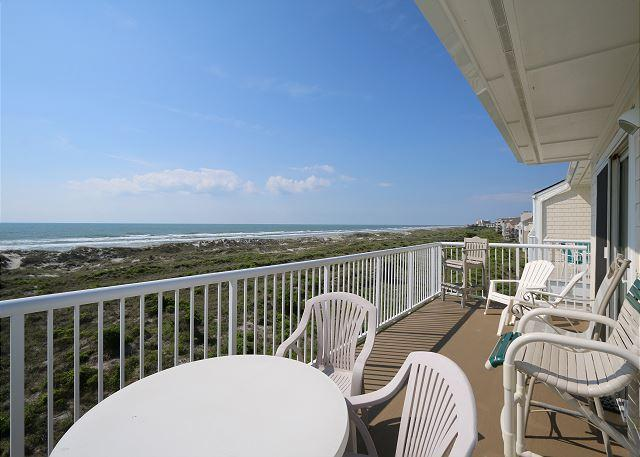 Wrightsville Dunes 3A-F - Oceanfront condo with community pool, tennis, beach - Image 1 - Wrightsville Beach - rentals