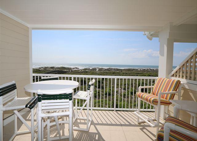 Wrightsville Dunes 2B-F - Oceanfront condo with community pool, tennis, beach - Image 1 - Wrightsville Beach - rentals