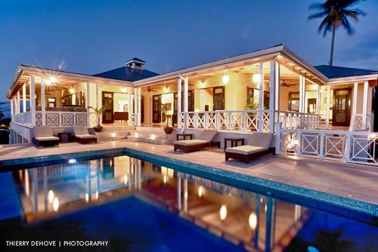 Amazing Veranda for Sun Worshippers - Luxury Property on Nevis Overlooking Golf Course - Nevis - rentals