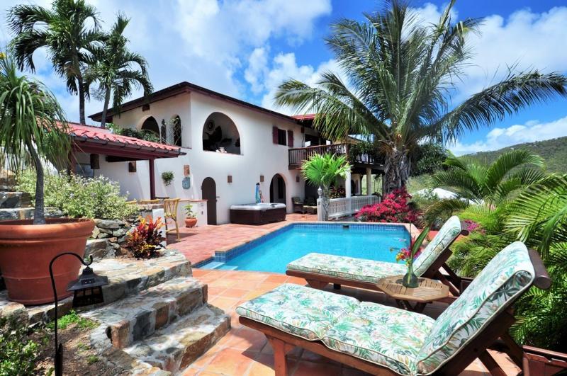 St. John Villa Rental with pool, Coral Bay - Image 1 - Coral Bay - rentals