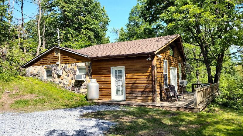 Remote mountain cabin - High Ridge cabin in the Blue Ridge mountains - Luray - rentals