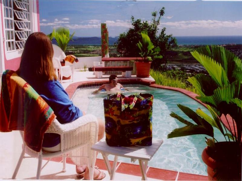 Enjoy our romantic cottage with 270 degree views of the Caribbean Sea! - Wonderful Home with Spectacular Caribbean View! - Humacao - rentals