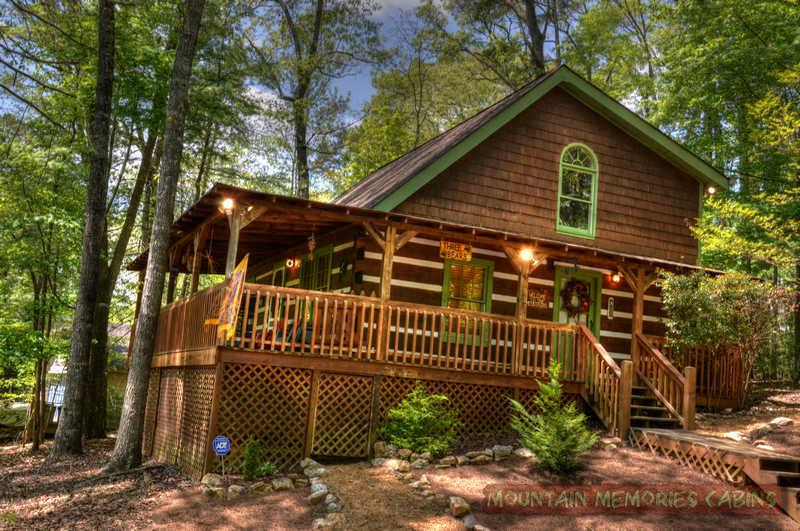 Beautiful 3 bears log cabin - Three Bears - Coosawattee River Resort - Ellijay - rentals