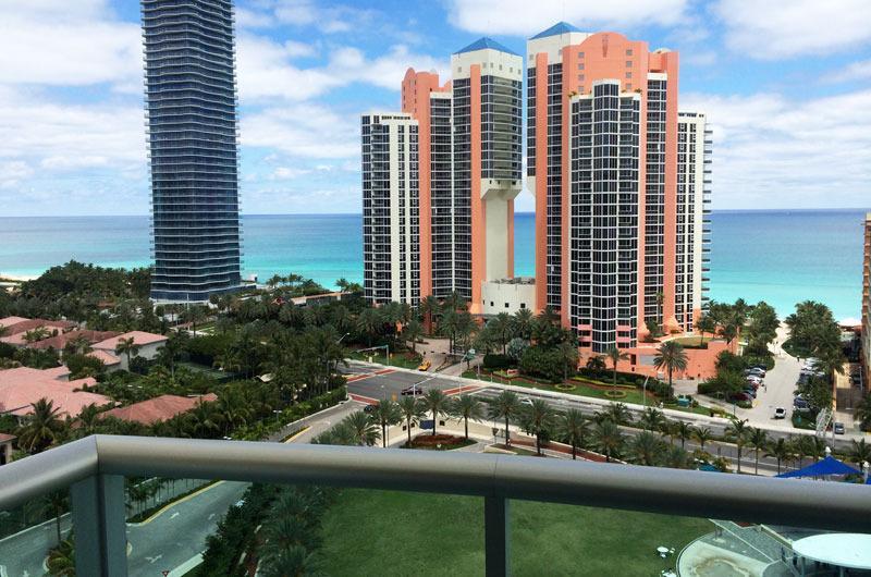 #18  Ocean Reserve 2BD Luxury Ocean View Condo - Image 1 - Sunny Isles Beach - rentals
