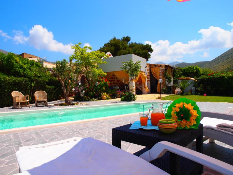 private garden and private pool - Holiday House with private pool - FREE WI-FI - San Vito lo Capo - rentals