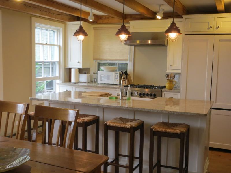 Newly modeled, bright and sunny kitchen. - Swan House - Nantucket - rentals