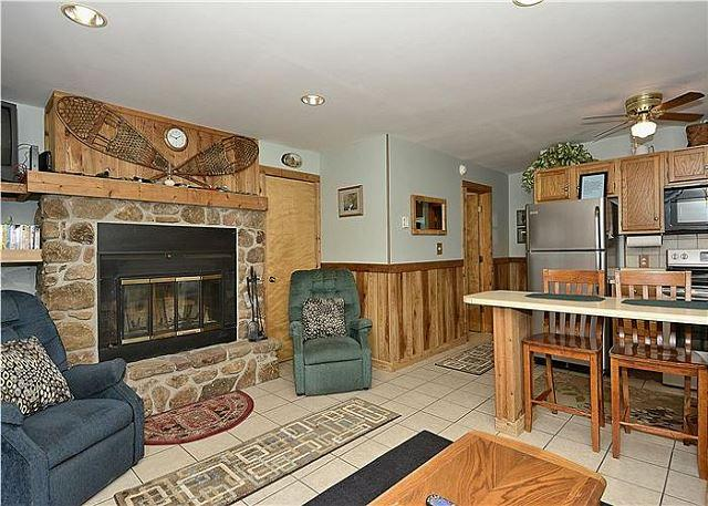 "Newly renovated Northwoods F2  ""Time Out""-100 ft. to slopes! - Image 1 - Davis - rentals"