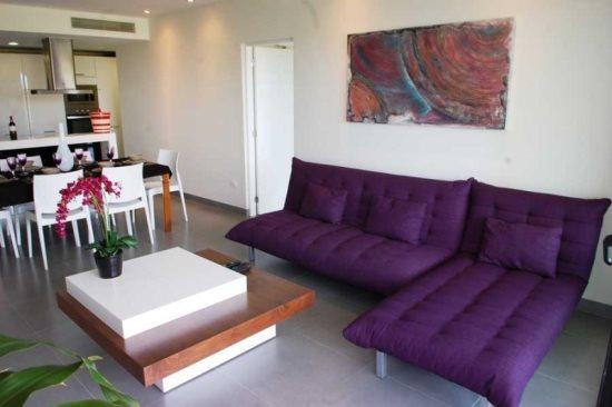 Nick Price Birdie - Living room - vacation rentals Playa del Carmen - Nick Price Birdie - Playa del Carmen - rentals
