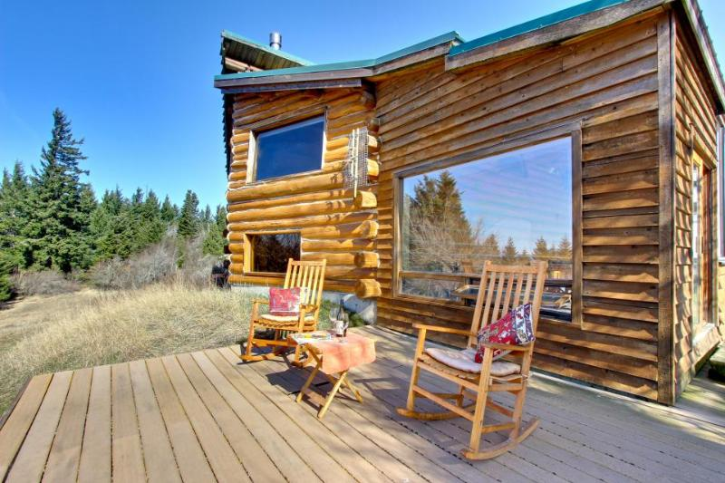 Authentic dog-friendly cabin with modern amenities on five acres! - Image 1 - White Salmon - rentals