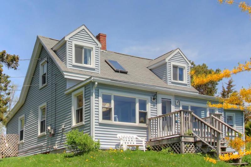 Traditional rustic Maine cottage with water on two sides! - Image 1 - Boothbay - rentals