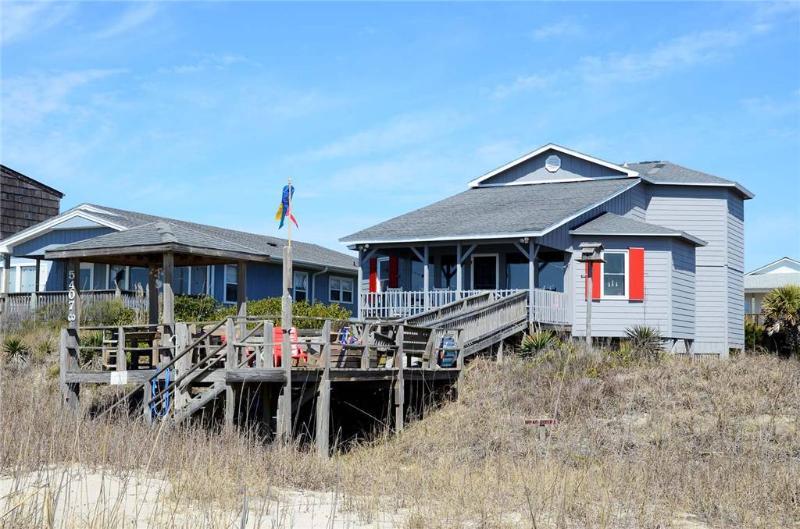 Ms. Grace  5407 West Beach Drive - Image 1 - Oak Island - rentals